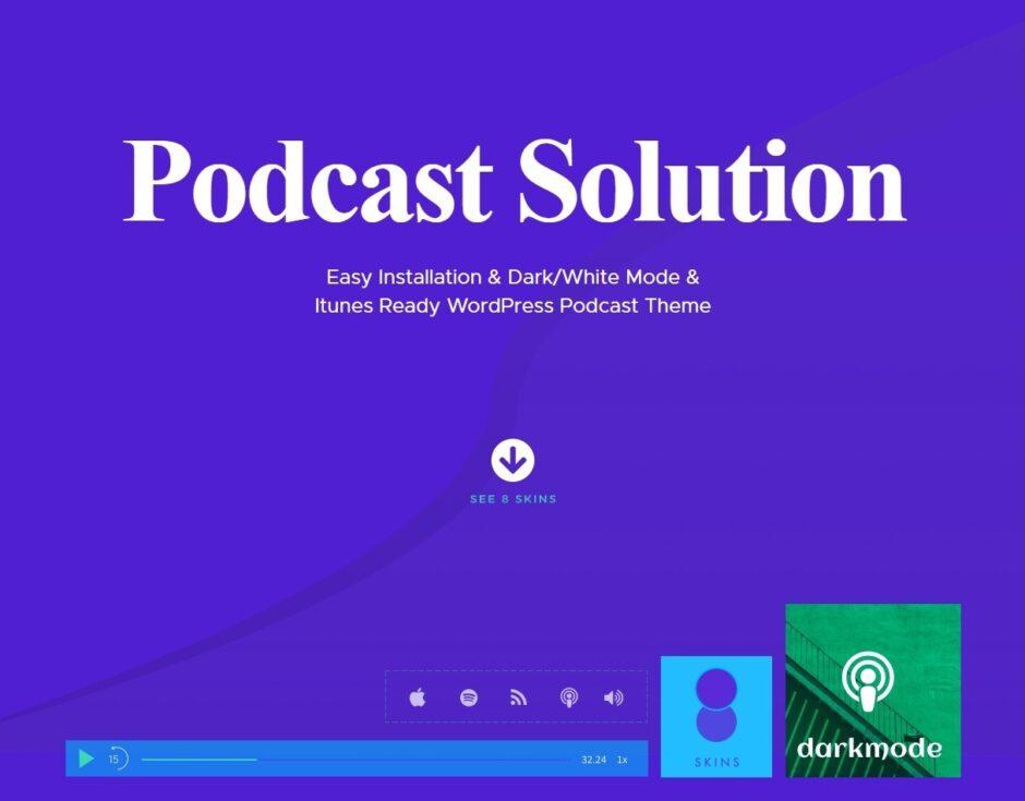 Fastcast Podcast WordPress Theme