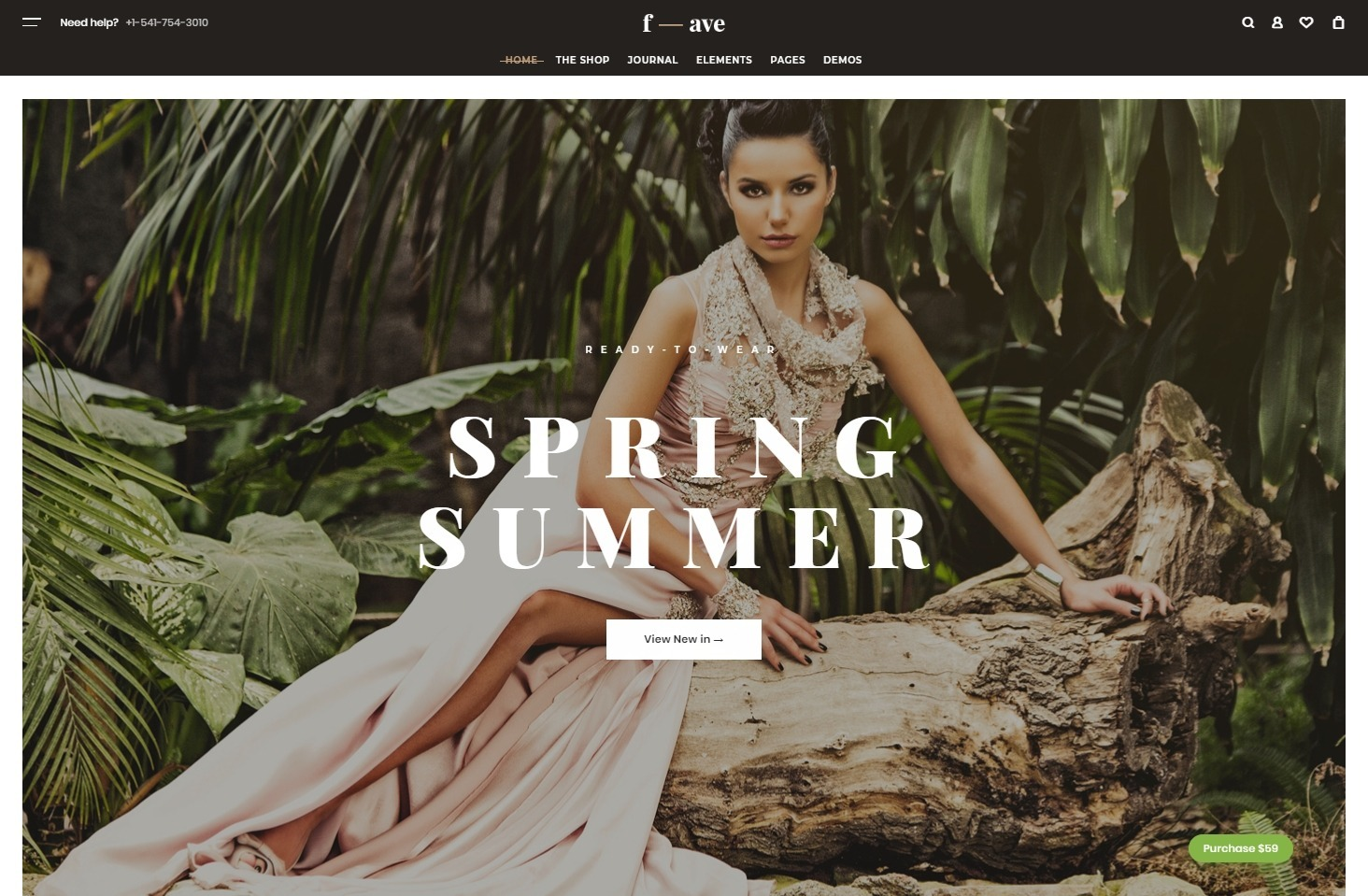 FifthAvenue WooCommerce WordPress Theme for Fashion