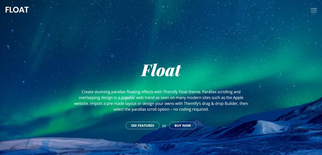 Float WordPress Theme For Journal Writers