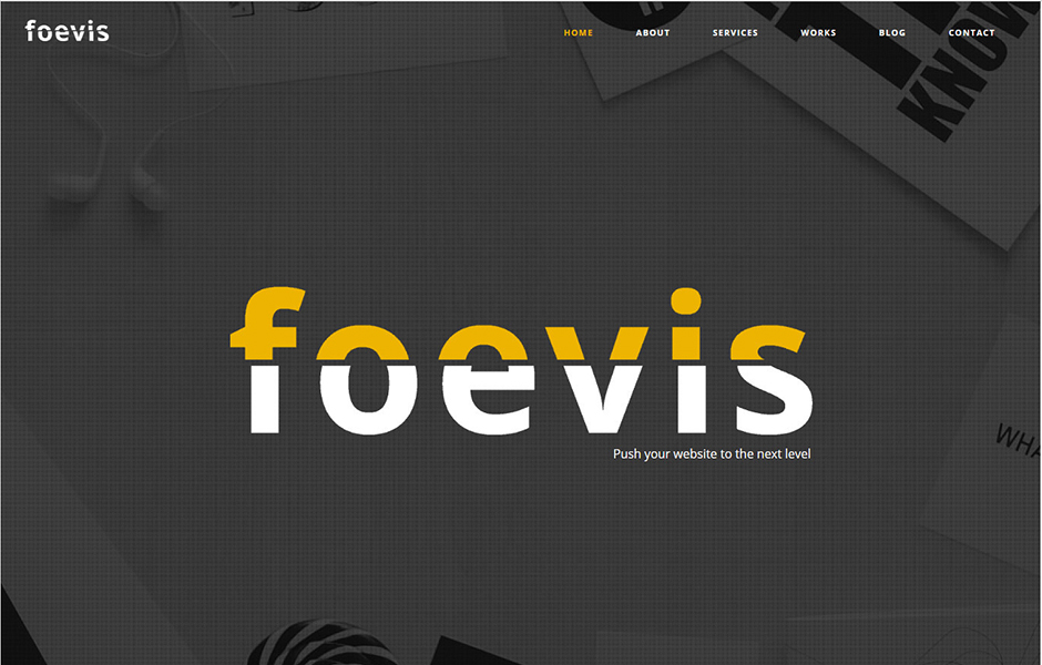 Foevis WordPress Bootstrap Template X
