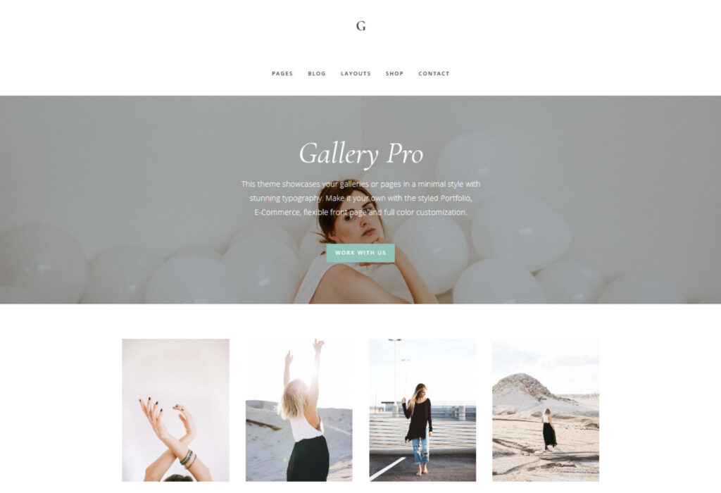 Gallery Pro Genesis Framework Photo Portfolio Theme