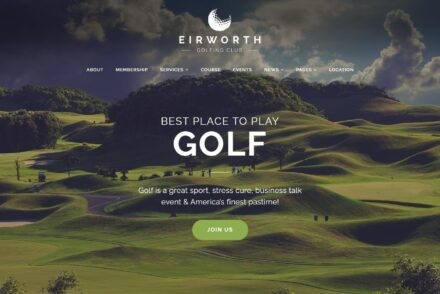Golf WordPress Themes