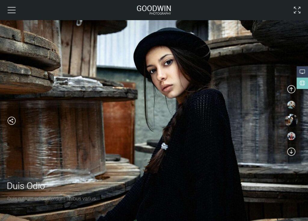 Goodwin WordPress Video Blog and Portfolio Theme