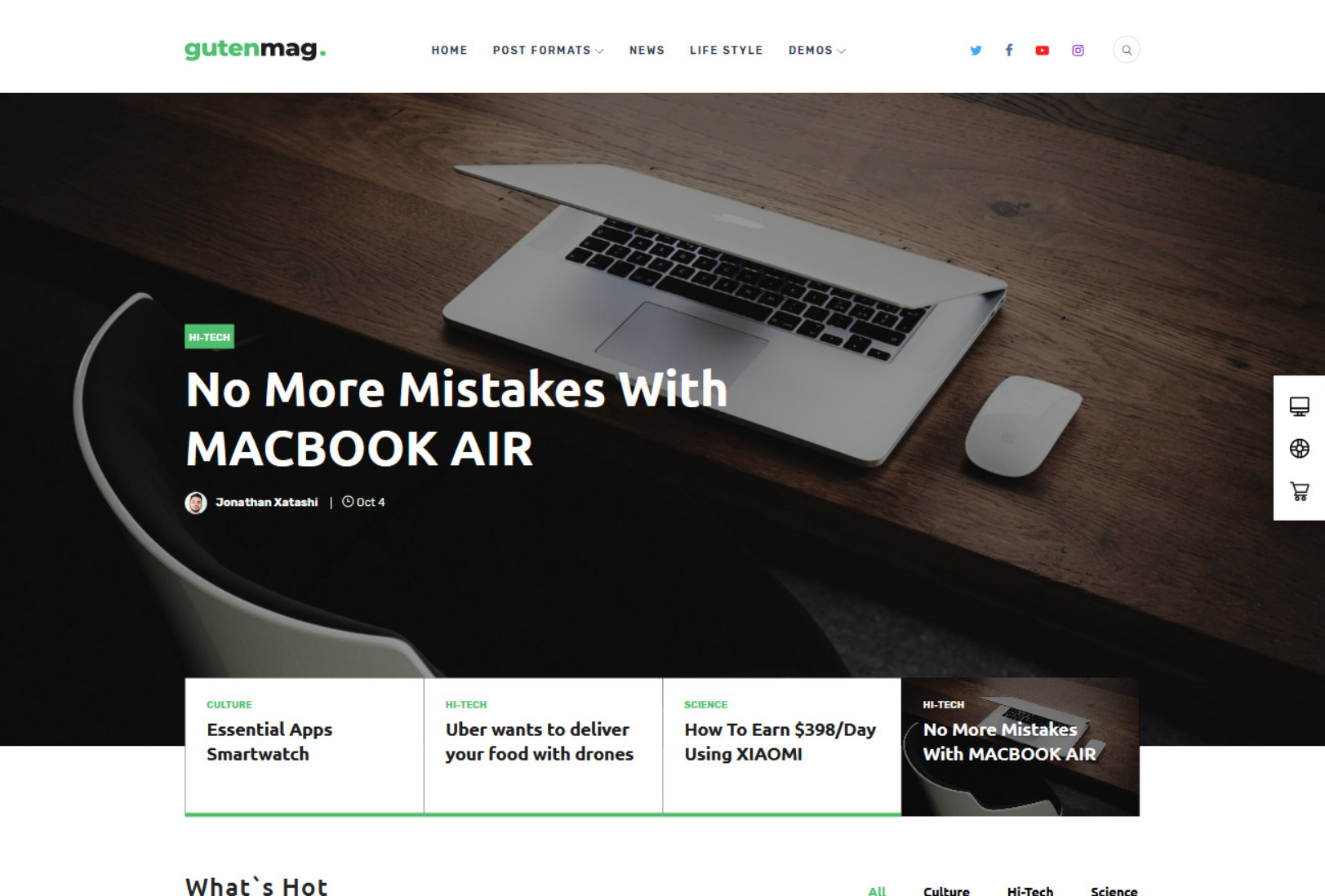 GutenMag Magazine WordPress Theme
