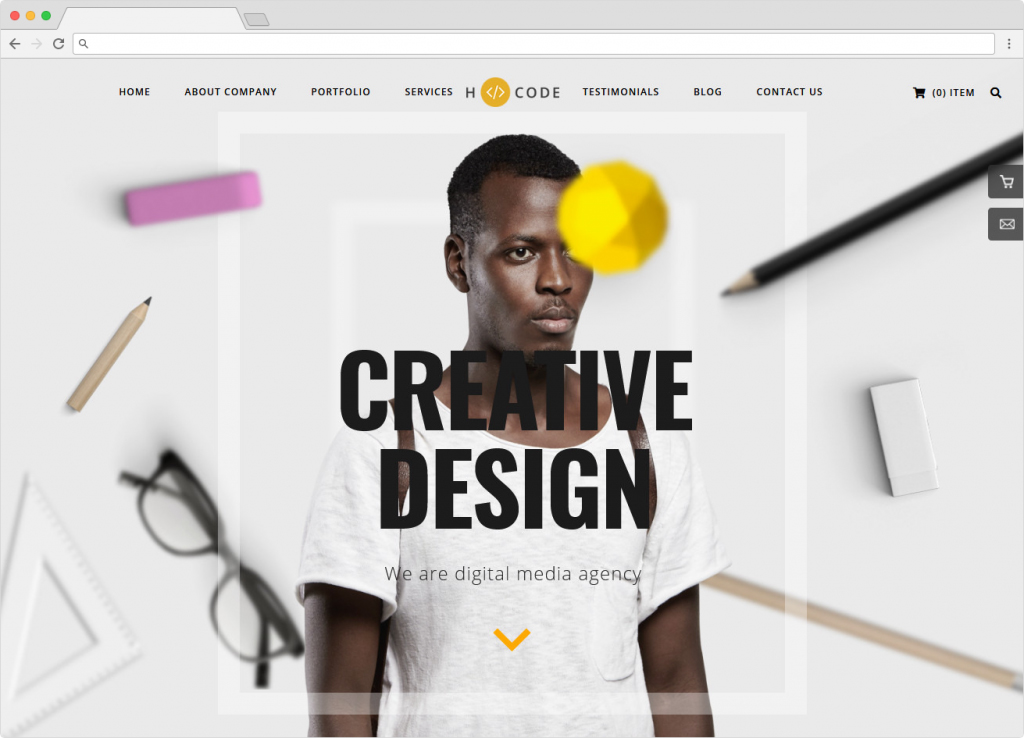 H Code Responsive Multipurpose Typography WordPress Theme