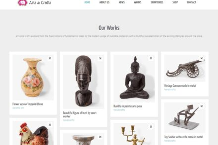 Handmade Crafts WordPress Themes
