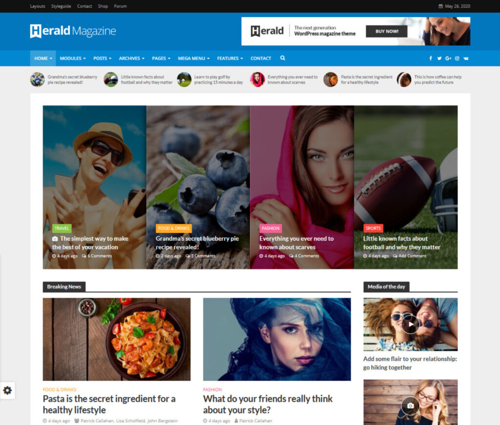 Herald Magazine for Affiliate Marketers