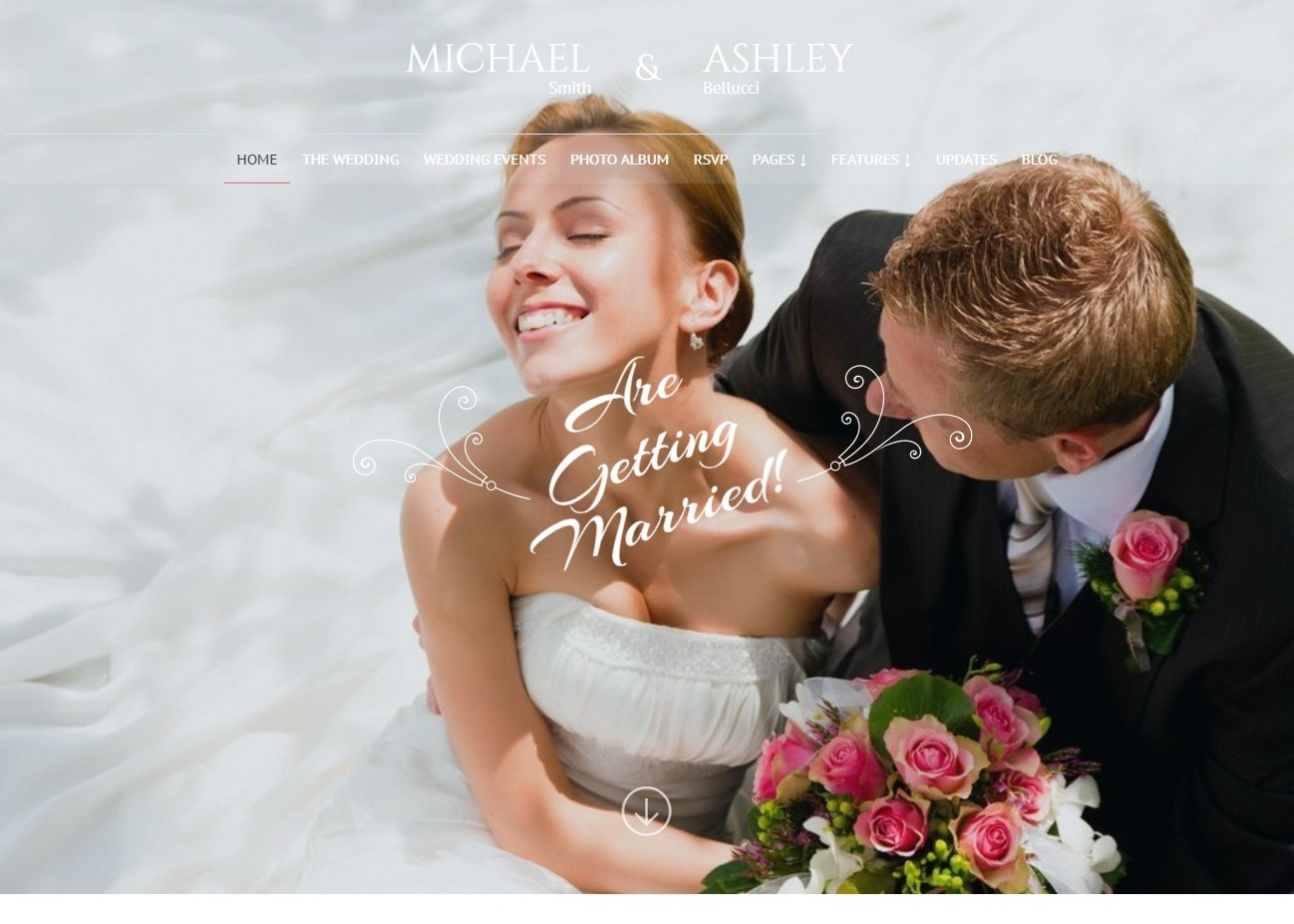 Honeymoon Wedding Planner WordPress Theme