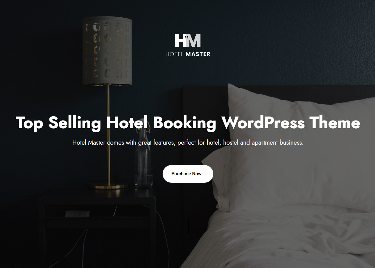 Hotel Master WordPress Hotel Reservations Theme