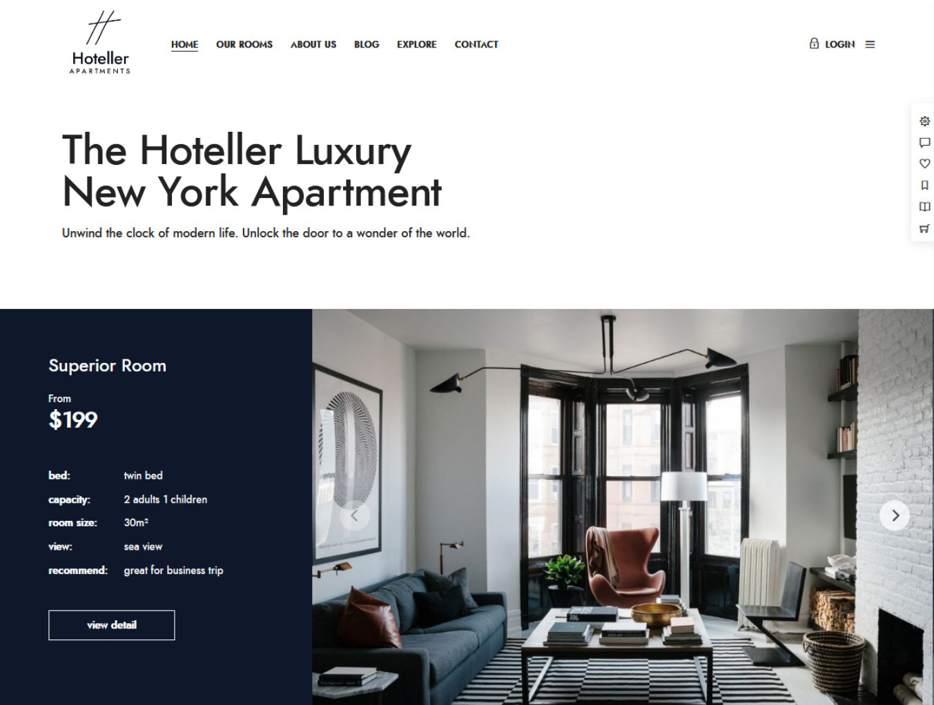 Hoteller WordPress Hotels Theme