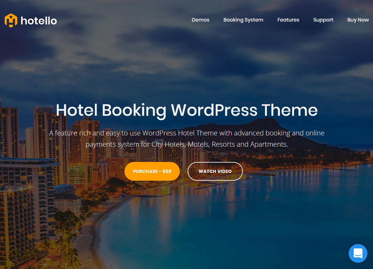 Hotello User Friendly Hotel Booking Theme