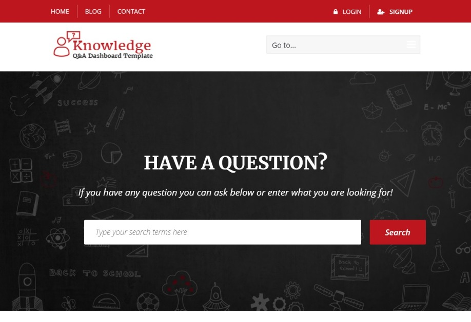 InfoCenter Knowledge QA and Tech Support Forum Template
