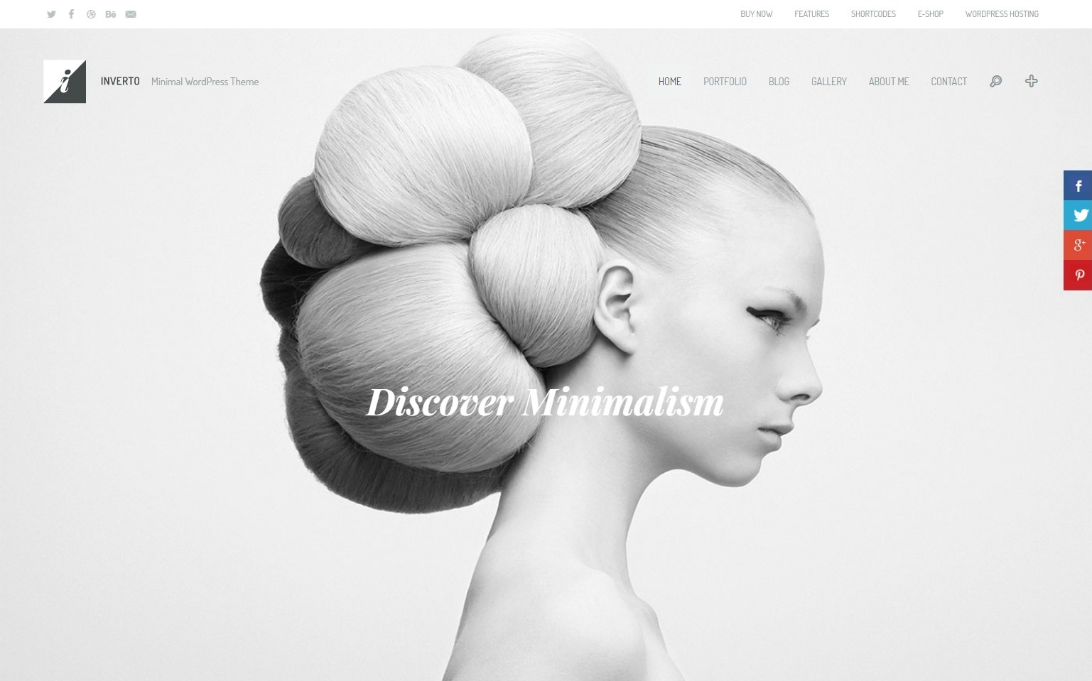 Inverto Classic Minimal WordPress Theme