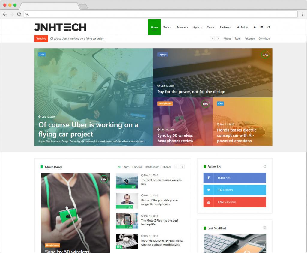 Jannah WordPress Buddypress Community Theme