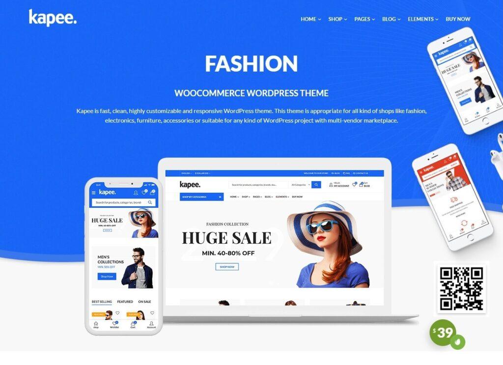Kapee WooCommerce Ready eCommerce Theme