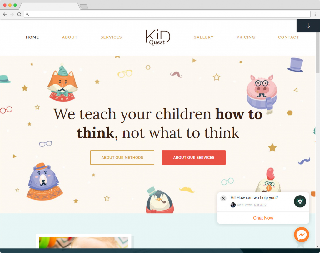 Kid Quest WordPress Theme For Boys And Girls