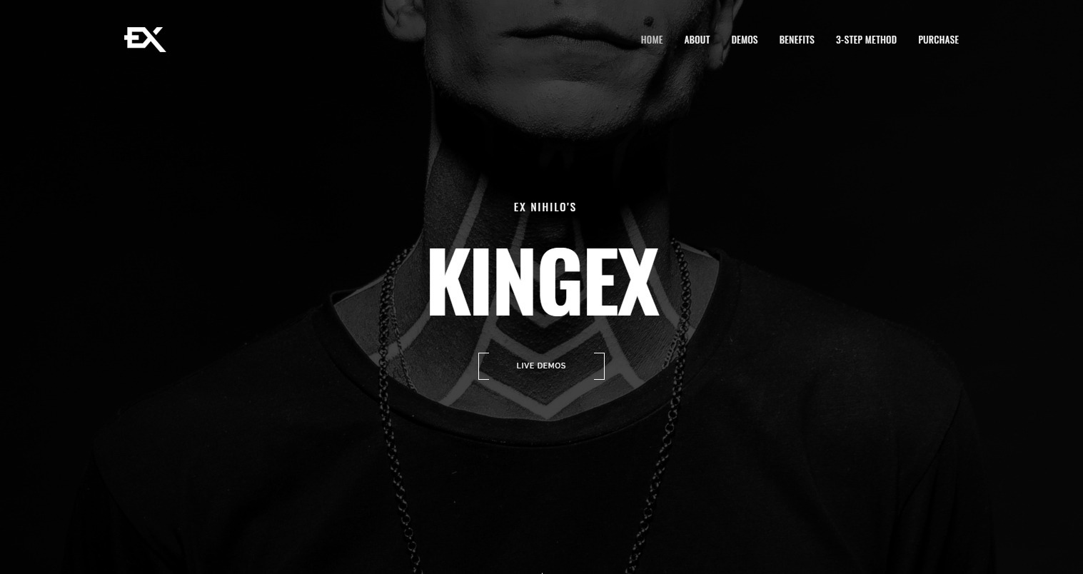 KingEx WordPress Theme for Video Portfolios