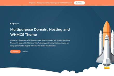 Kripdom Multipurpose Domain Hosting and WHMCS Theme