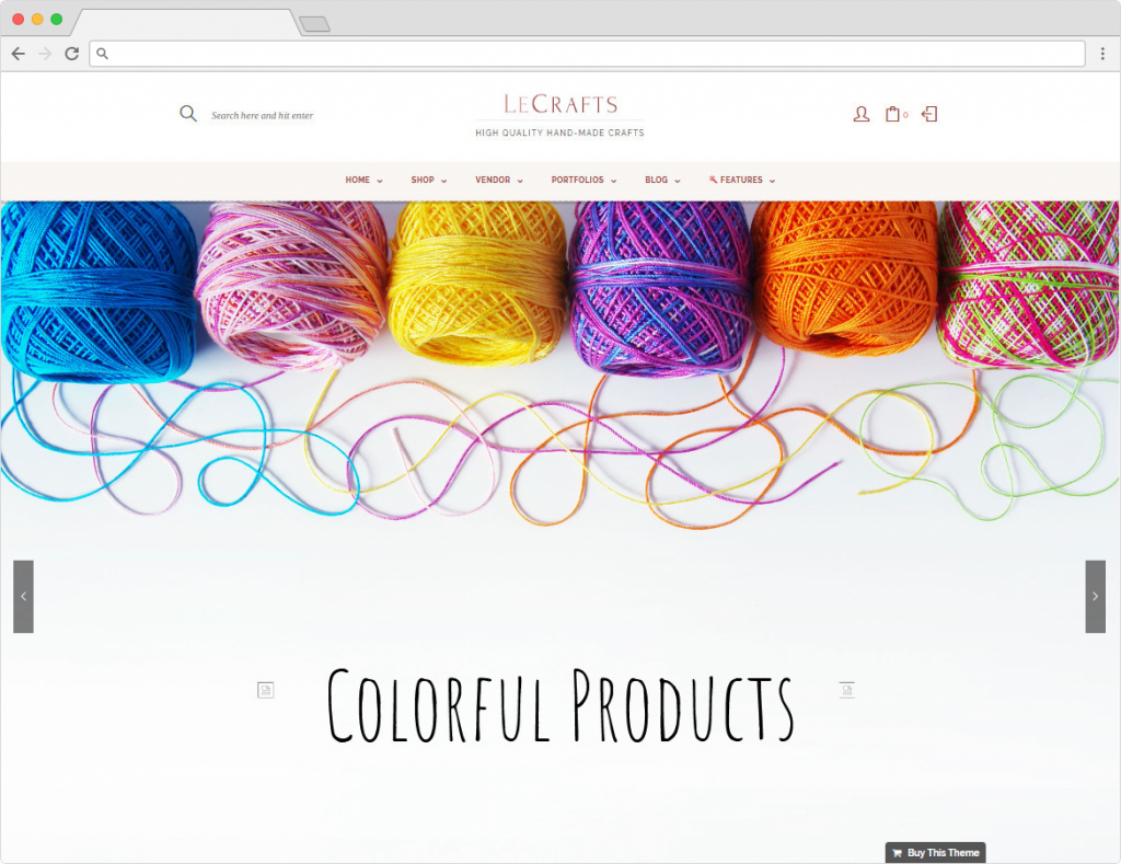 LeCrafts WordPress Multi Vendor Marketplace Themes