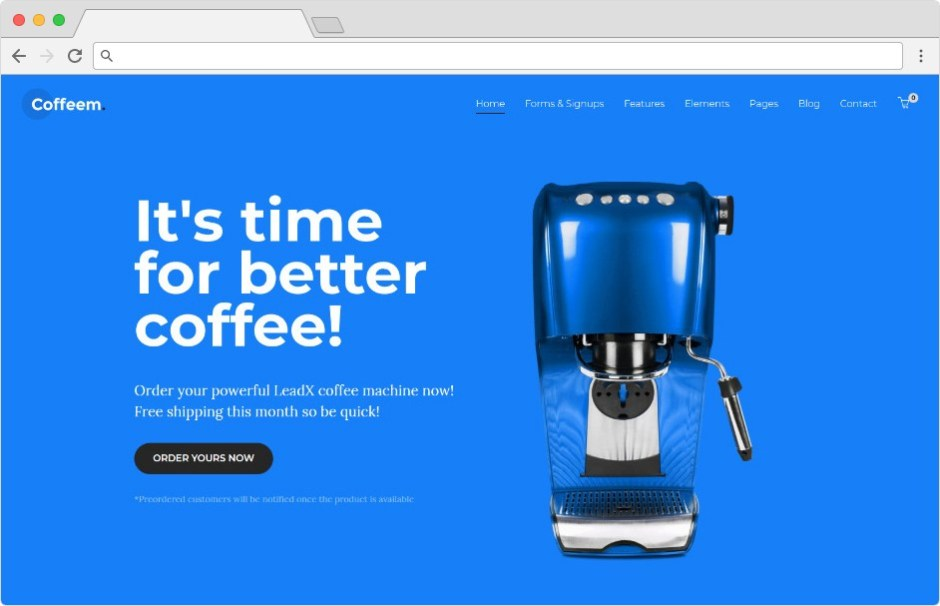 LeadX WordPress Theme for Lead Generation Landing Pages Apps