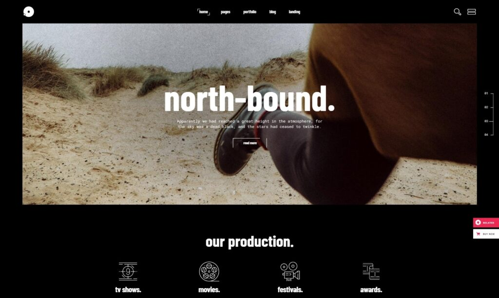 Leitmotif Movie Company and Film Studio Theme