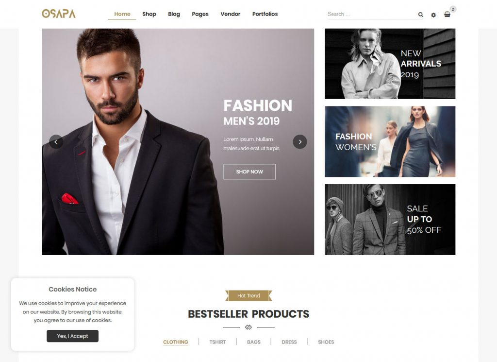 Lookbook WordPress Themes 1