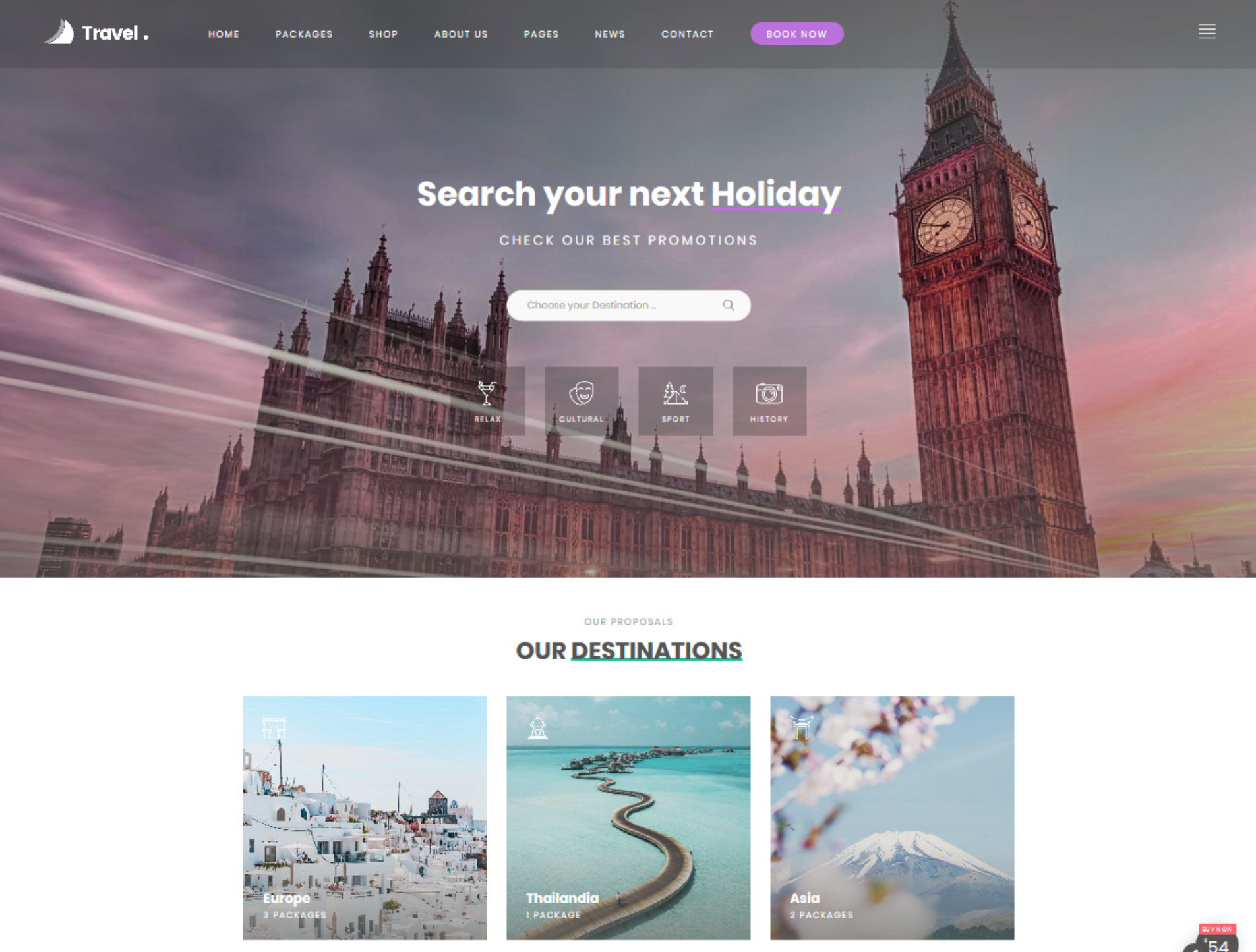 Love Travel Agency Tour Packages Holiday Resorts Theme