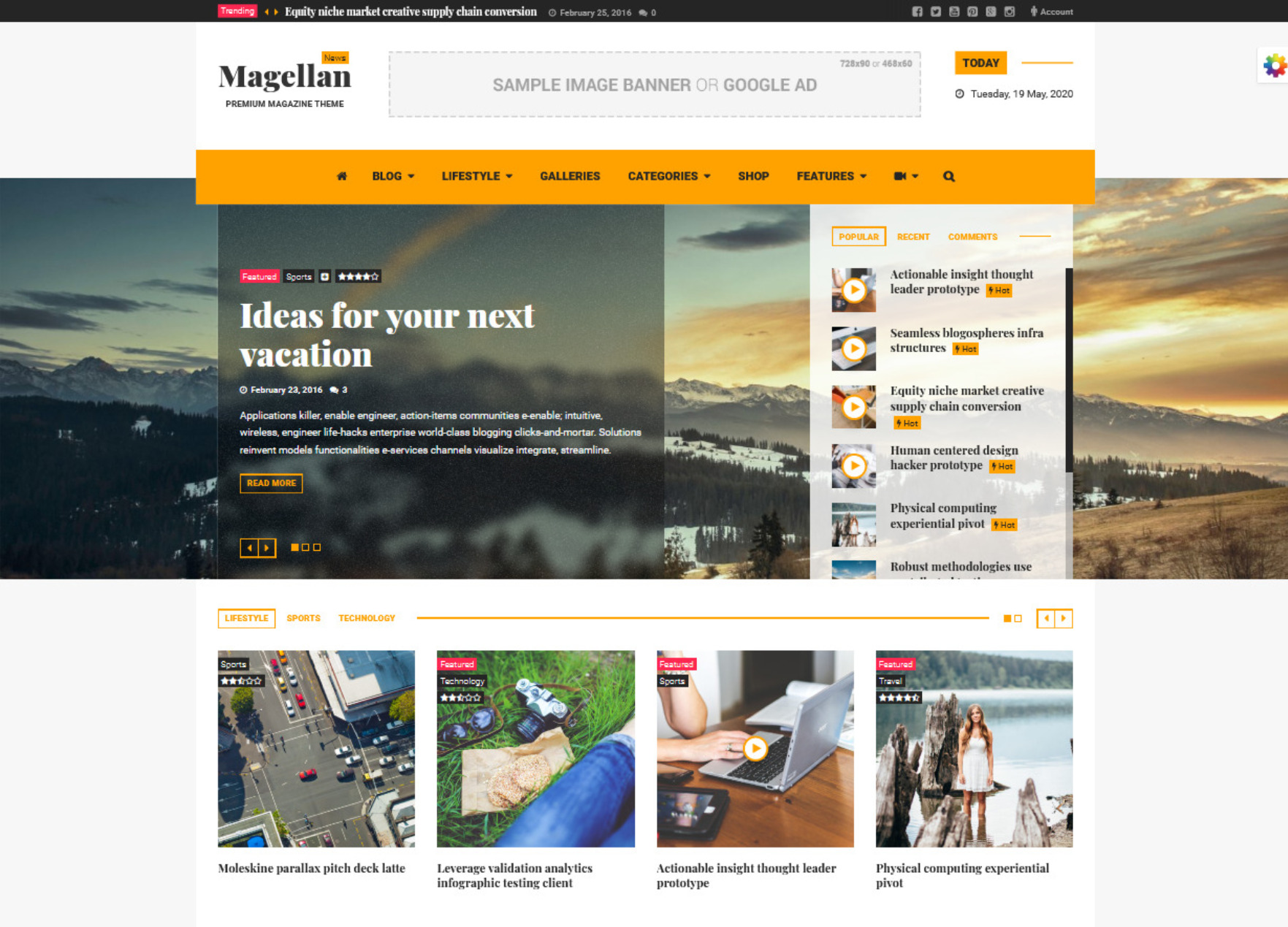 Magellan Video News Reviews Magazine