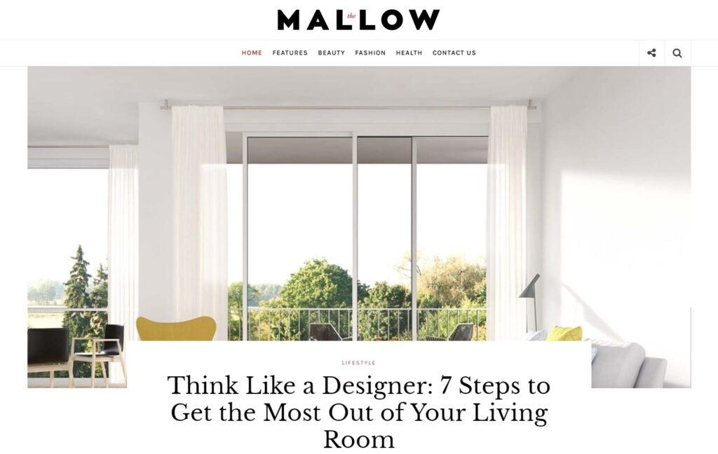 Mallow Personal Lifestyle Blog Magazine WordPress Theme