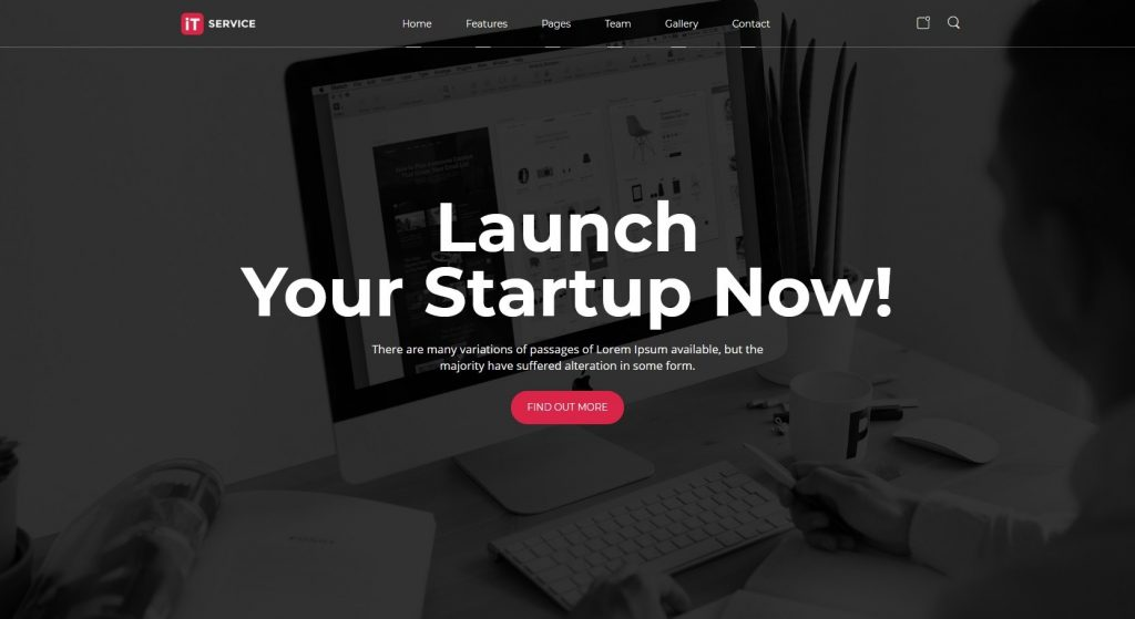 Massive Dynamic Startup And App Theme