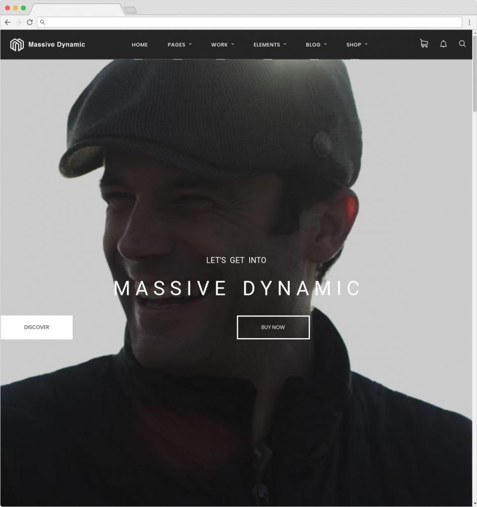 Massive Dynamic WordPress Agency Theme