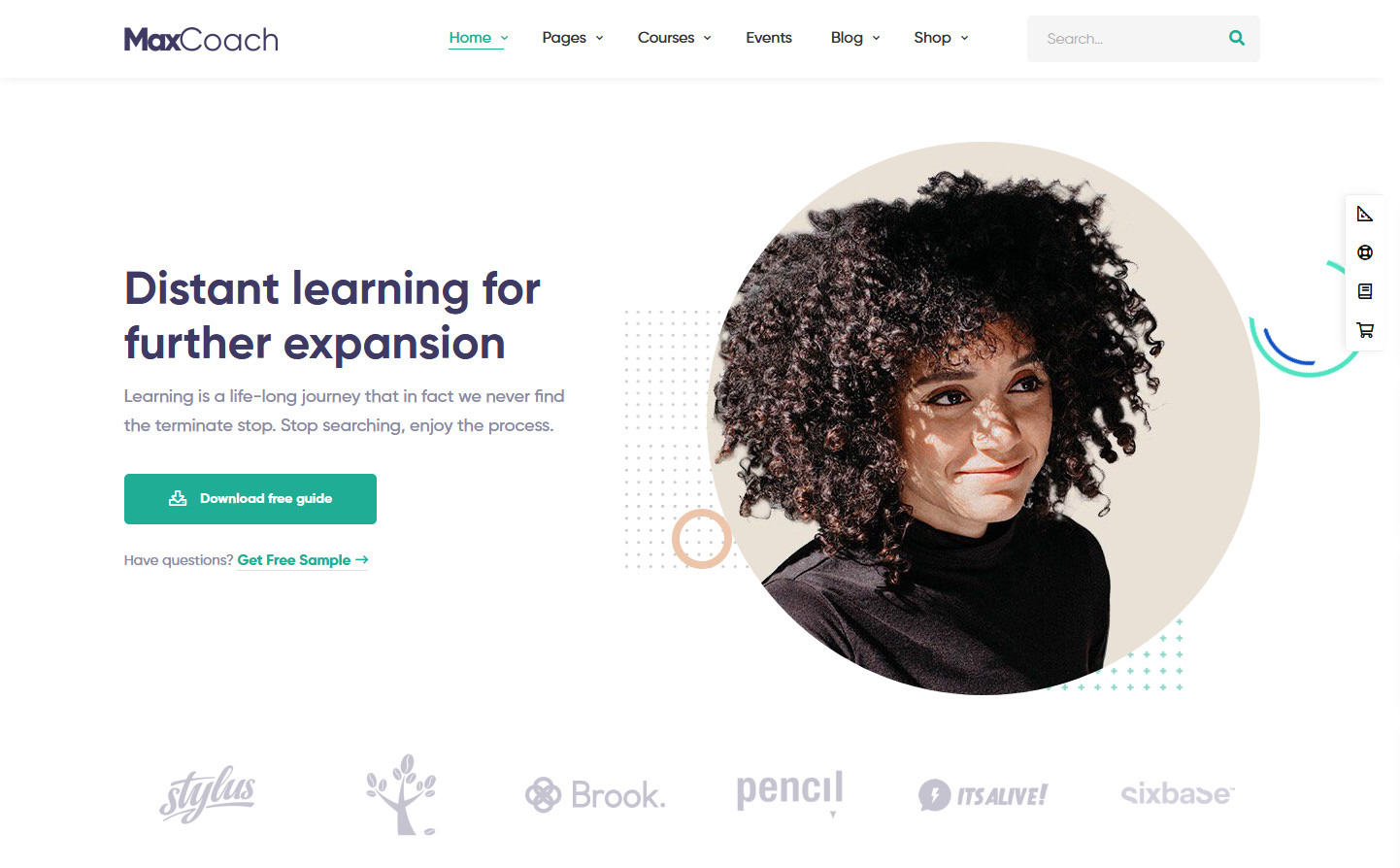 MaxCoach WordPress Education Theme