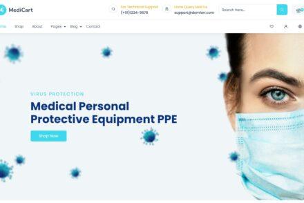 Medicart WordPress Health and Medicine Theme