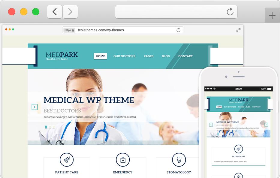 Medpark WordPress Theme