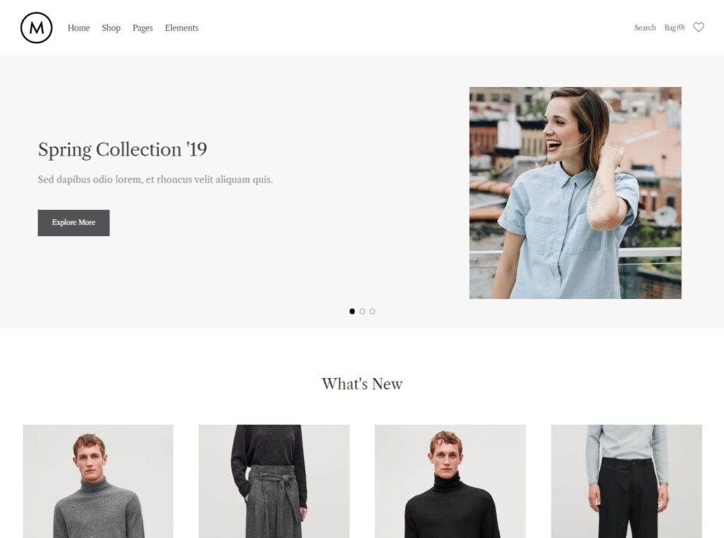 Merino Ultra Modern WooCommerce WordPress Theme