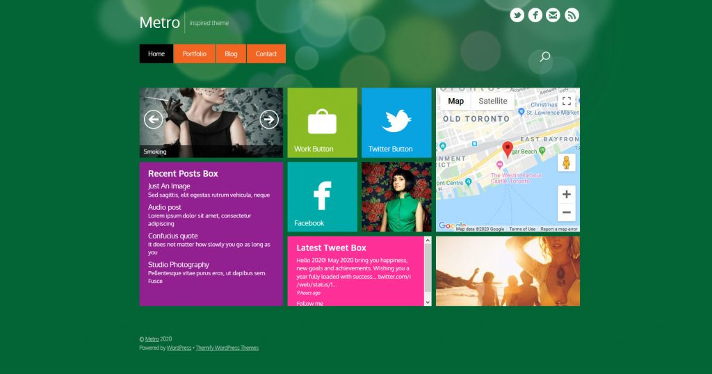 Metro Style WordPress Themes Scaled
