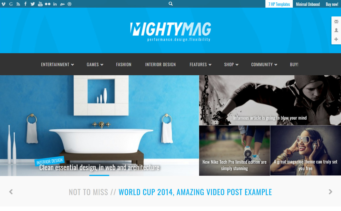 MightyMag WordPress Review Themes