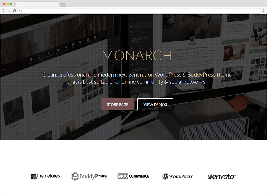 Monarch WordPress Theme For Timelines