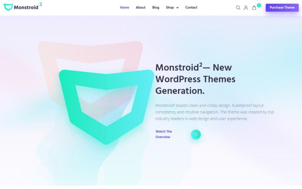Monstroid 2 Multipurpose WordPress Theme