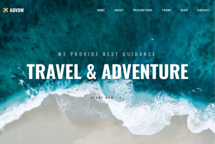 Monstroid 2 Travel Blog and Agency WordPress Theme