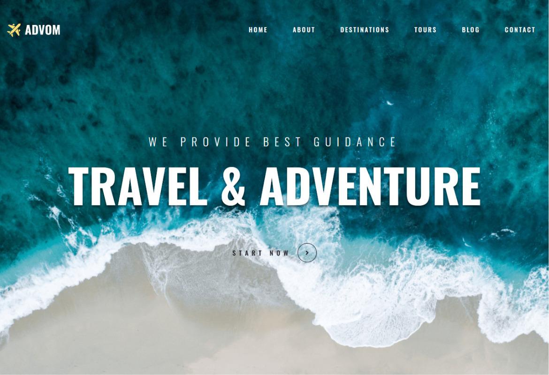 Monstroid 2 Travel Blog and Agency WordPress Theme