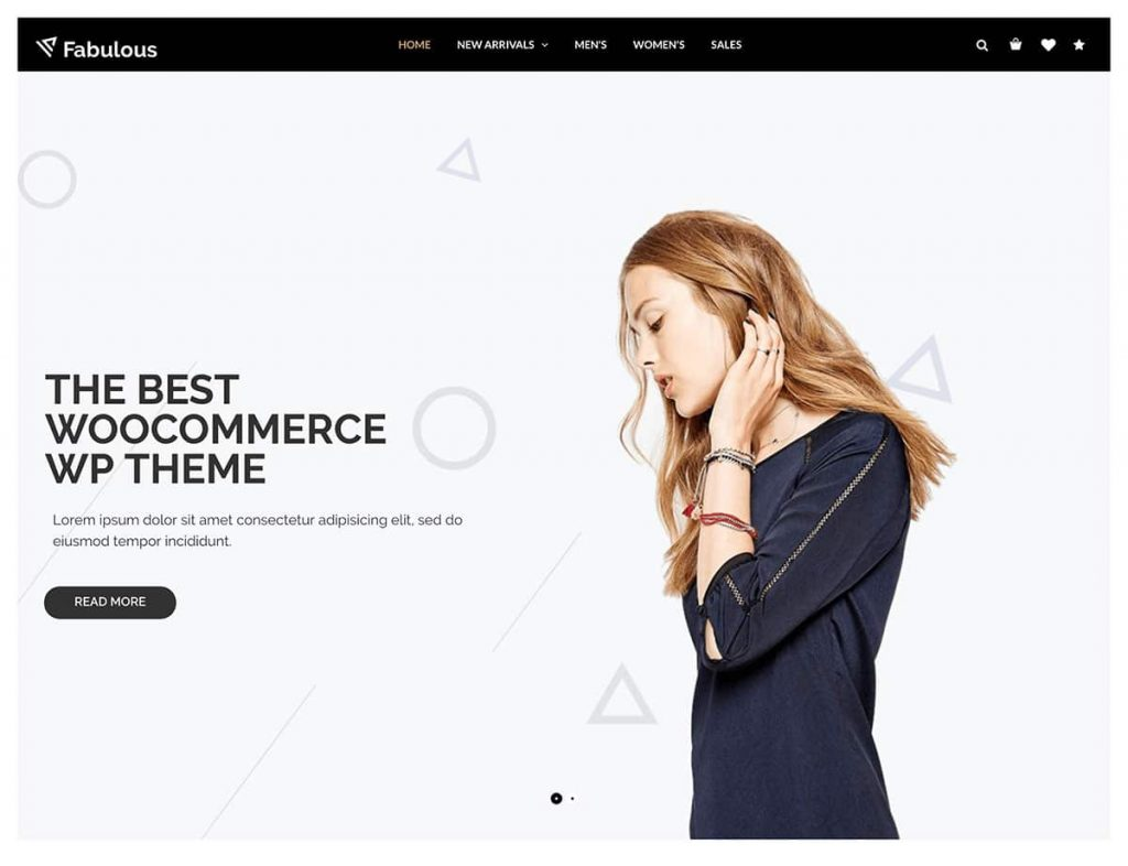 Nitro WordPress WooCommerce Theme For Clean Shops