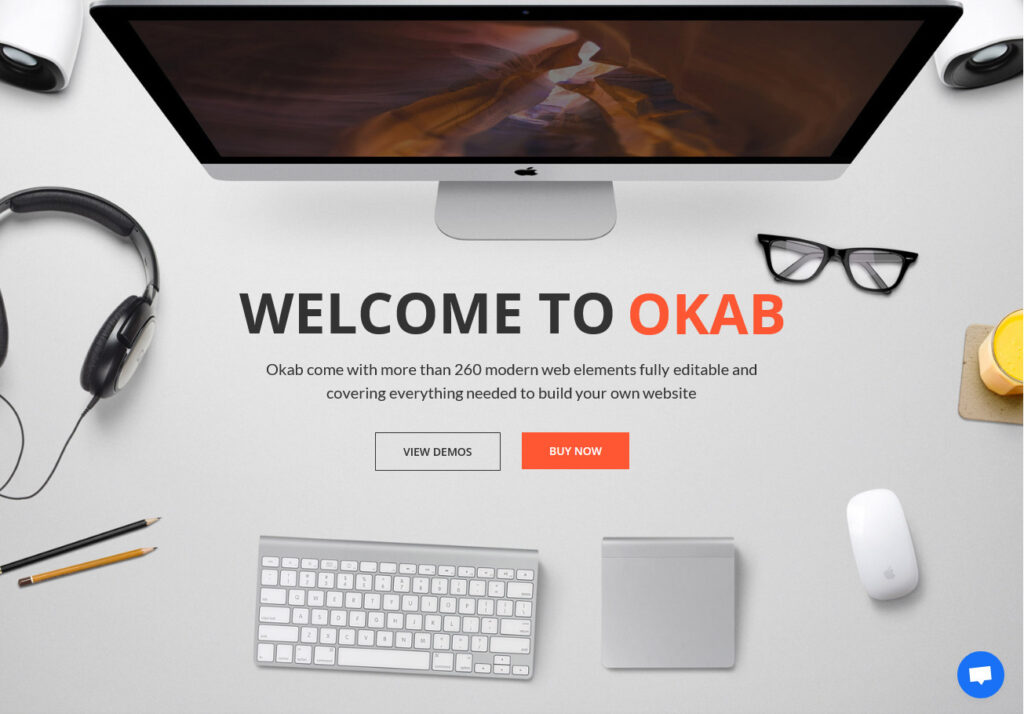 Okab Responsive Multi Purpose WordPress Theme for Photography