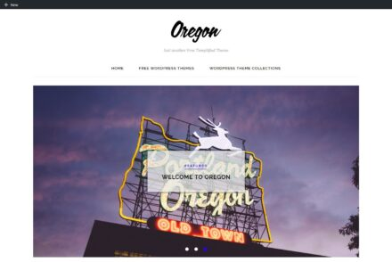 Oregon – Just another Free Templified Theme1