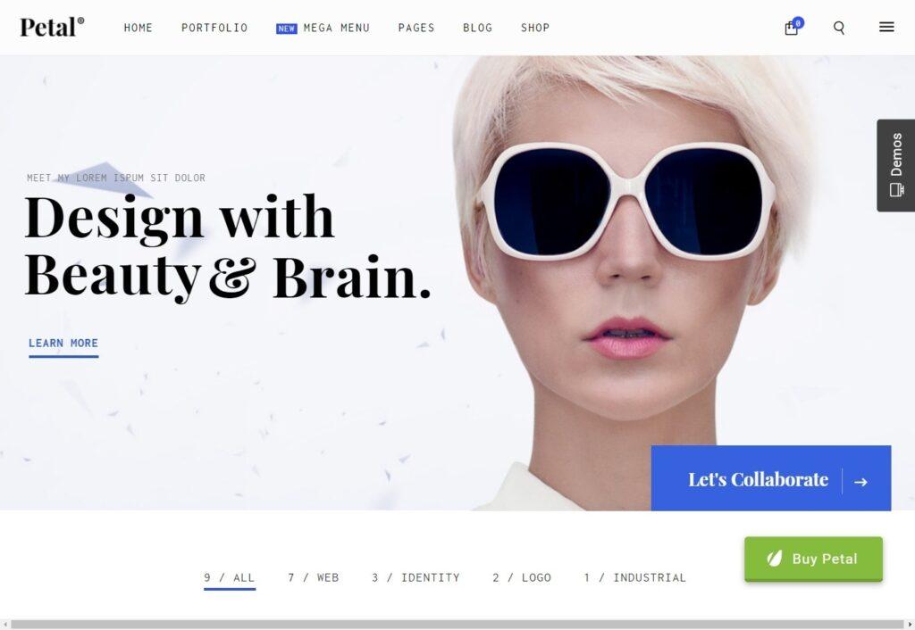 Petal WordPress Theme for WooCommerce Shops