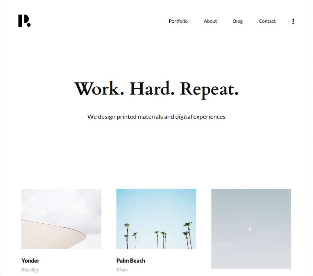 Philament Creative PhotographyPortfolio WordPress Theme
