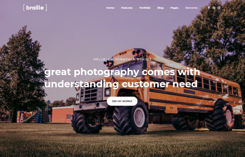 Photography WordPress Themes 2