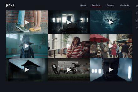 Plexx High Definition Video Portfolio Theme