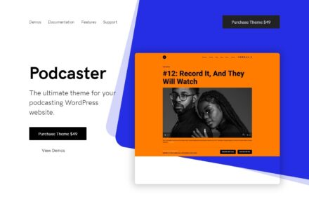 Podcasting WordPress Themes
