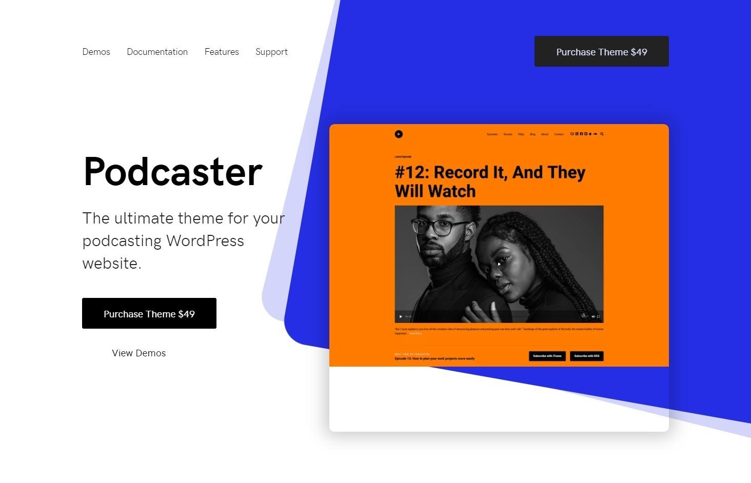 Podcasting WordPress Themes